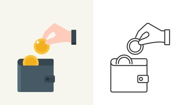 貯金ゼロからでもできる、2つの財布の貯金法