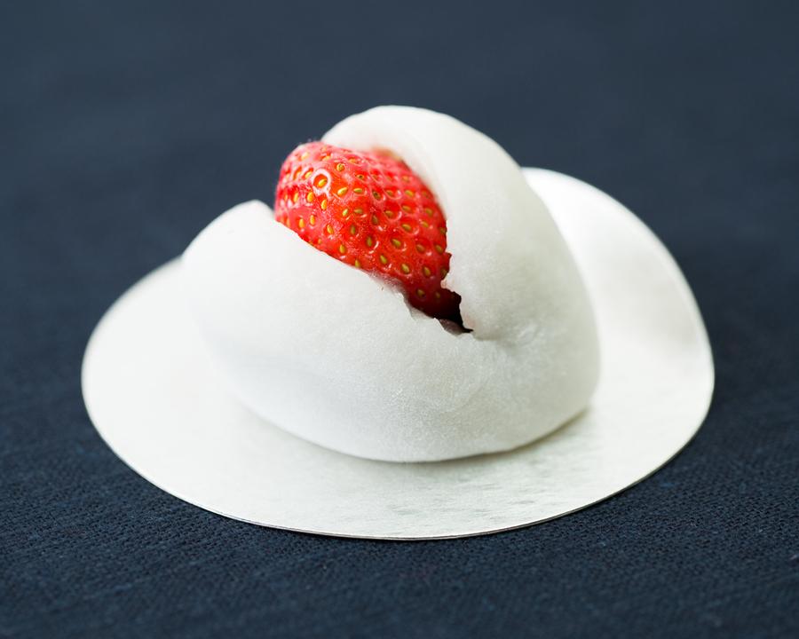 大福に合うフルーツ検証_イチゴ