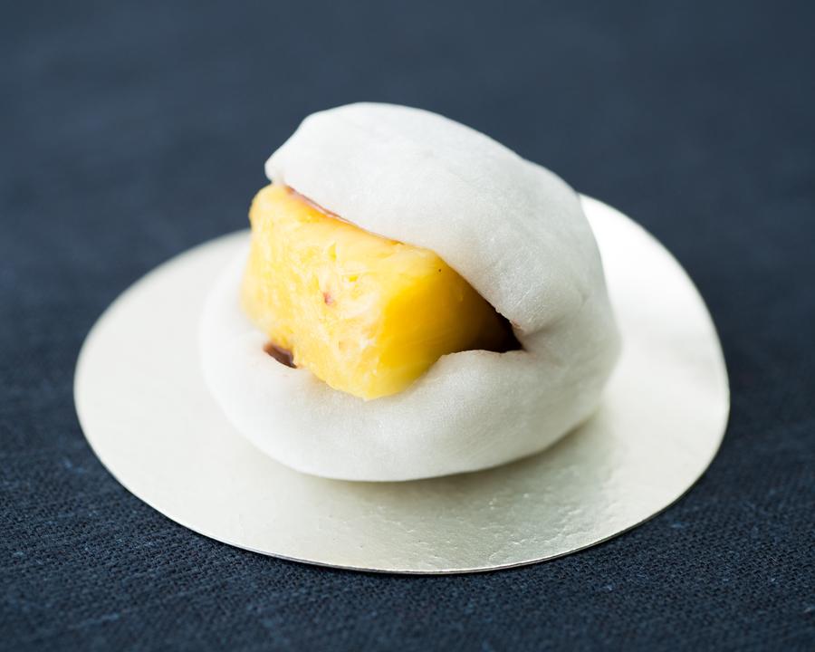 大福に合うフルーツ検証_パイナップル
