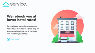 ホテルを予約したあとで価格が下がったら、自動的に予約し直してくれるサイト「Service」