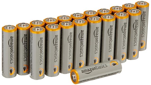 【本日のセール情報】Amazonタイムセールで80%以上オフも! Amazonベーシック単3形アルカリ乾電池20個パックやオフィスチェアがお買い得に
