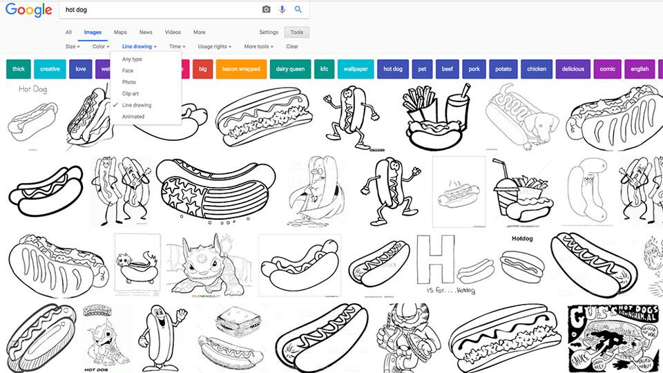パソコンプリンターとgoogle画像検索を使えば子どもの望む塗り絵が