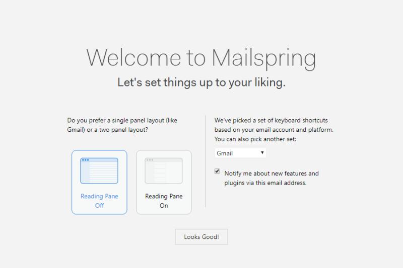 使いやすさにこだわった、デスクトップベースのメールサービス
