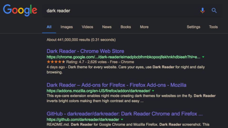 googleドキュメントをダークモードにするchrome拡張機能 darkdocs