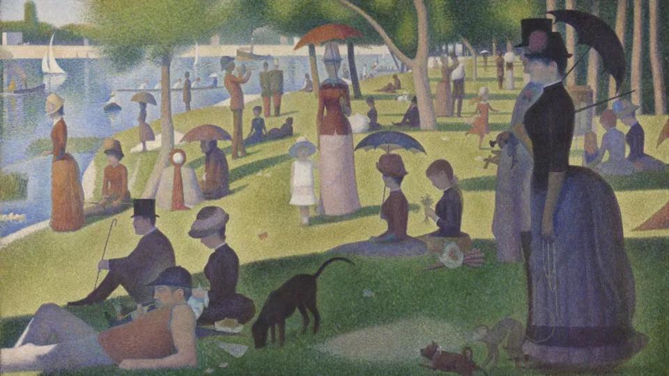 モネピカソ名画がフリーでダウンロード可能シカゴ美術館の