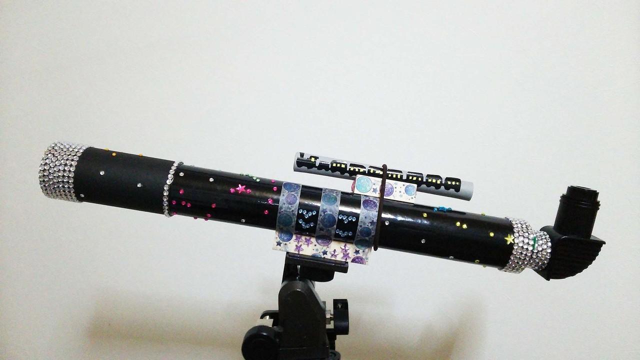 デコ望遠鏡