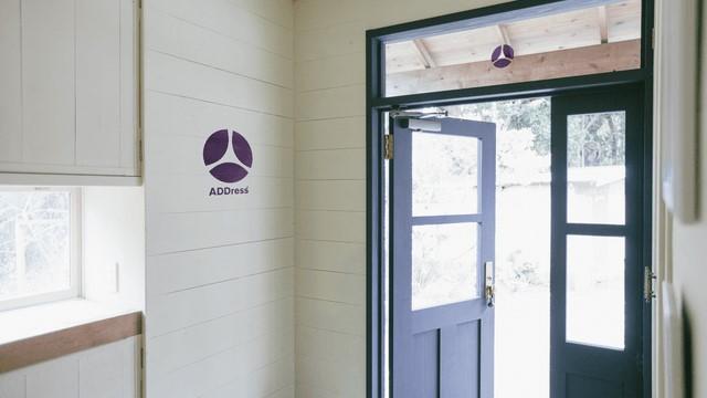 ADDressの施設の入り口