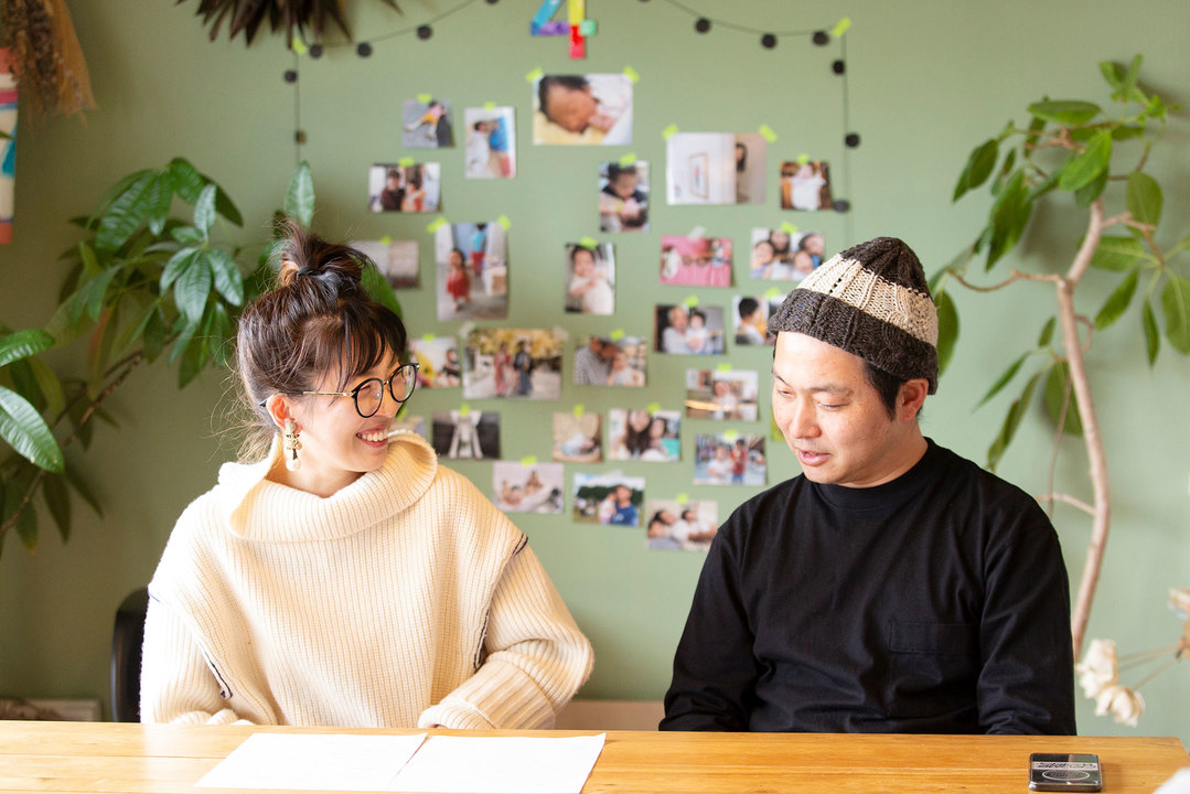イラストレーター・ナカオテッペイ&おくむらさーこさん夫婦