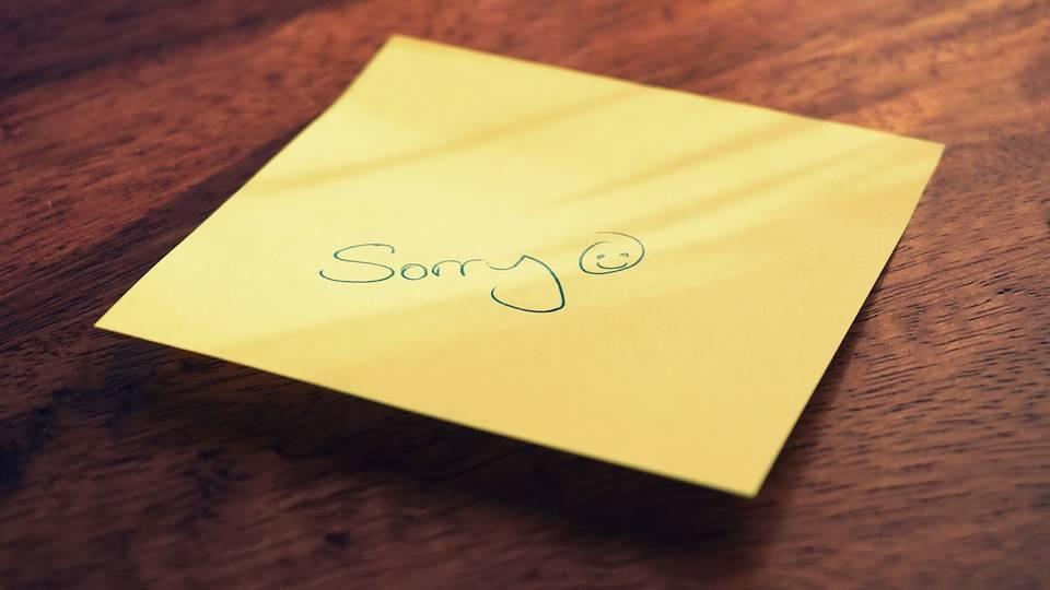 謝罪 が という で 自体 と こと しない を 謝罪 ある