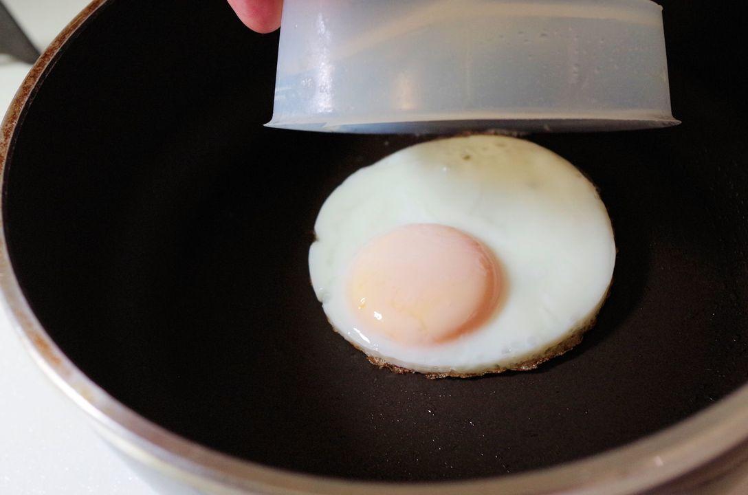 「フローチポッド」で作った目玉焼き