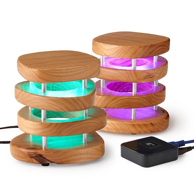 光でコミュニケーションする「Friendship Lamp」は色が変わる