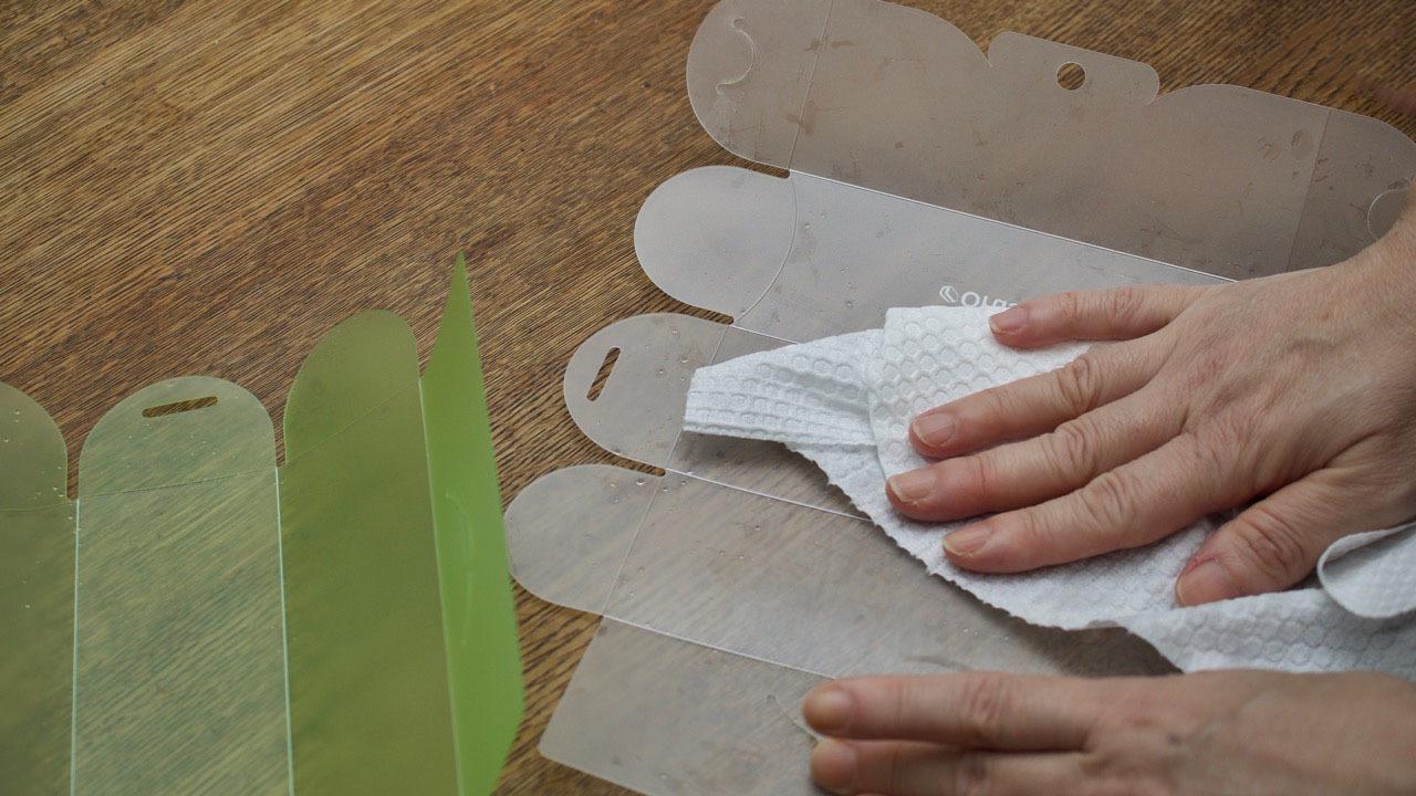 Orusand(折るサンド)は平らで洗うのも簡単