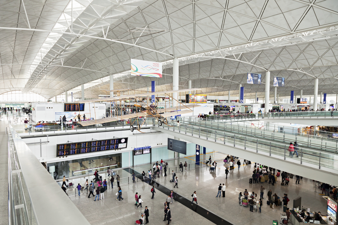 香港国際空港(HKG)