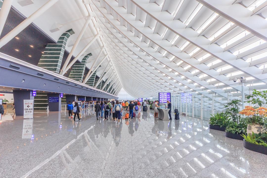台湾桃園国際空港(TPE)