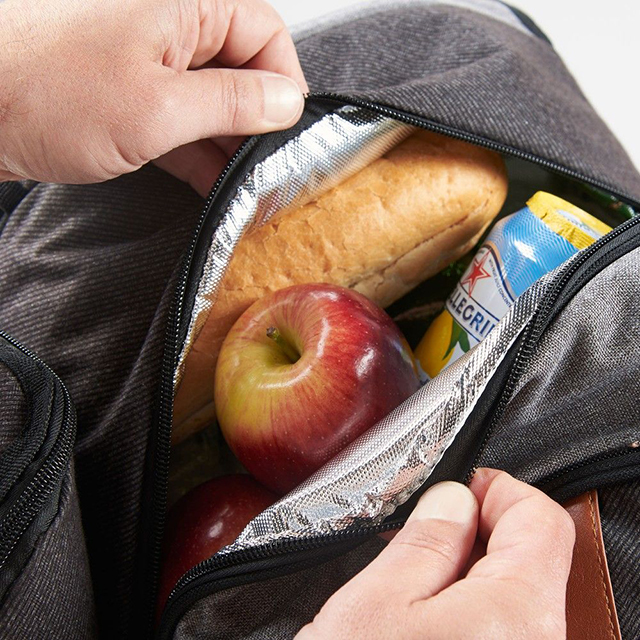 「Picnic Backpack」は保冷や保温に対応した仕様