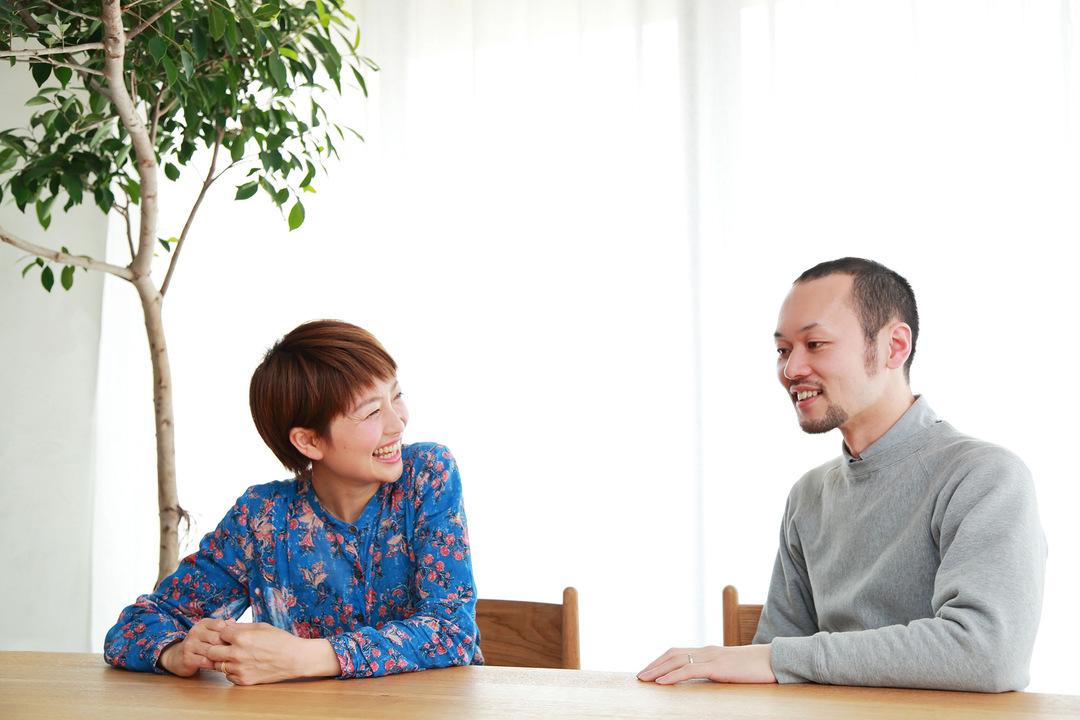 森山和彦さん山川咲さん夫婦