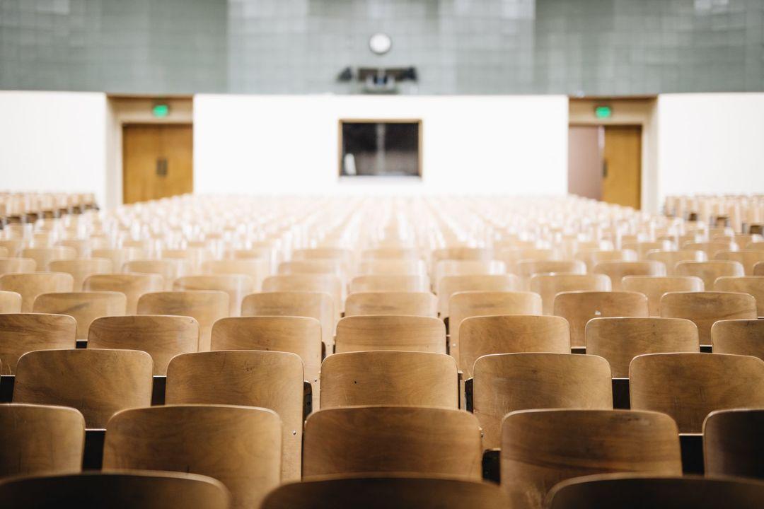 大学の大教室