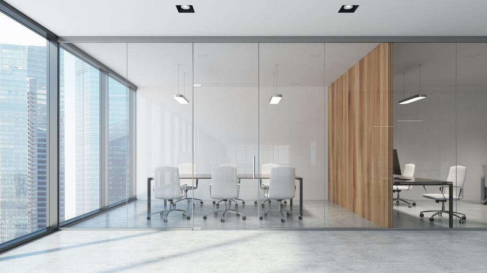 空っぽの会議室