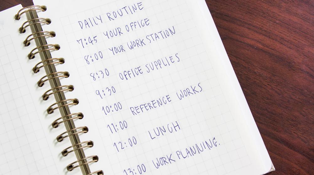 毎日の習慣リスト