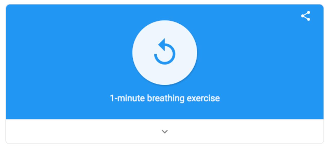 Googleの呼吸法アプリ