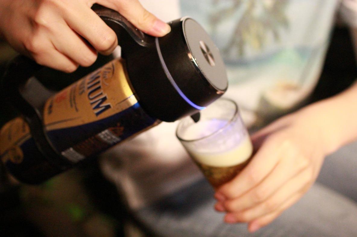 ハンディビールサーバー