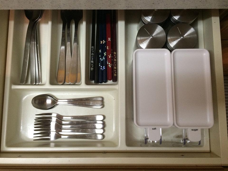 キッチン収納カトラリケース