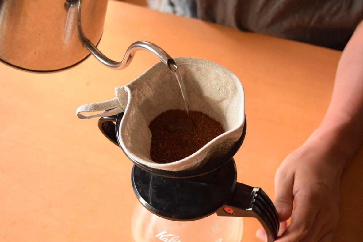 リネンコーヒーフィルター