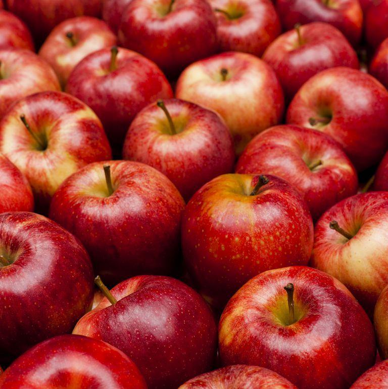 8. りんごを噛む