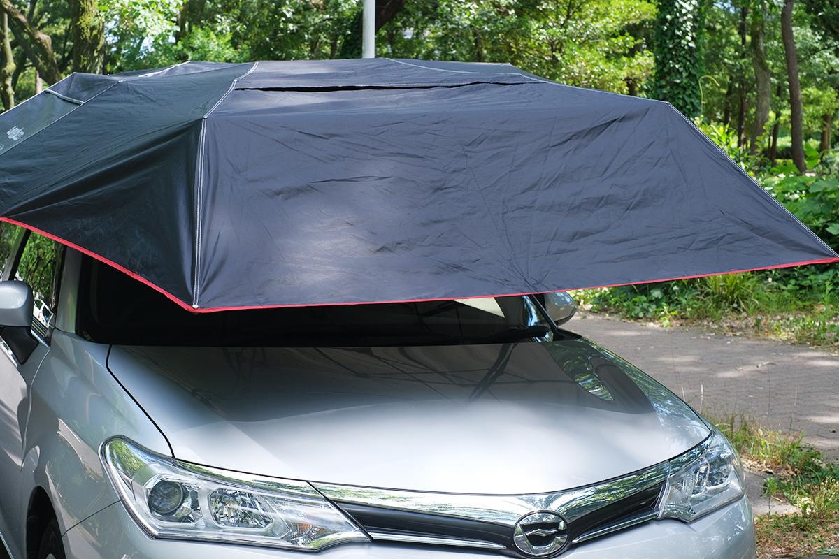 固定具をしっかり規定通りに設置すれば安定感もあるし車中泊とかにいいかも。目立つけど-1