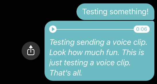 Messengerのスクリーンショット