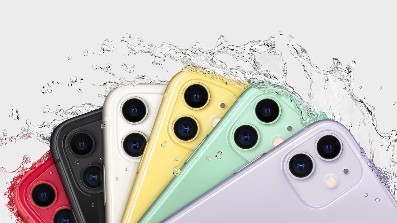 カラフルなiPhone11 Pro