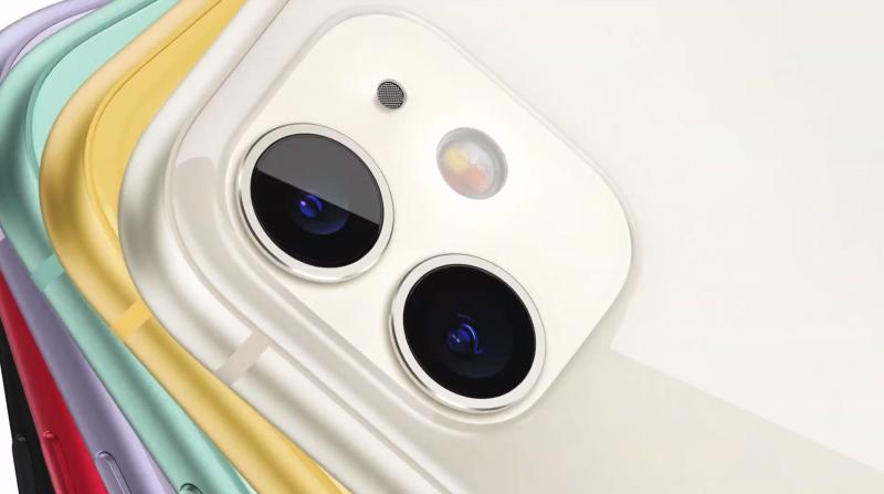 6色の新iPhone11