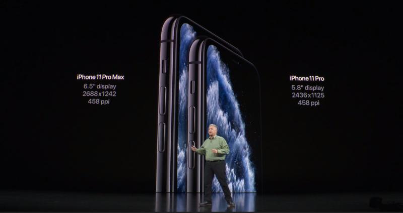 iPhone 11 ProとPro Maxの比較