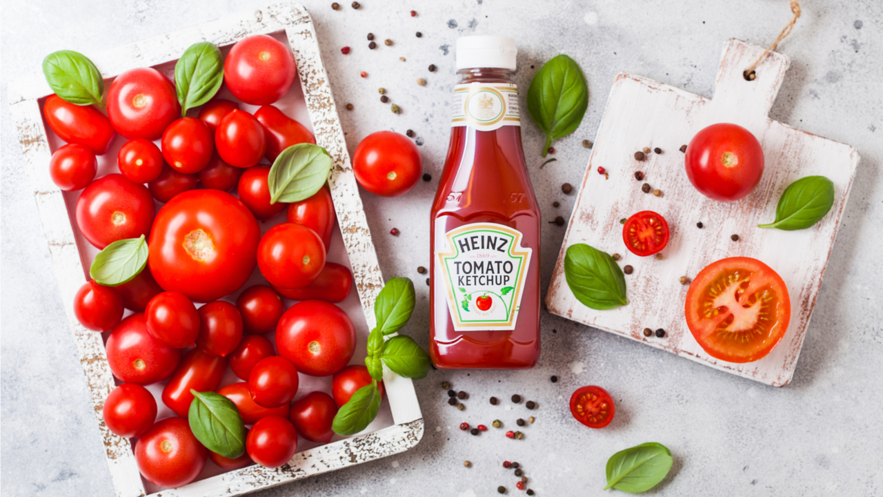 ハインツのケチャップとトマト