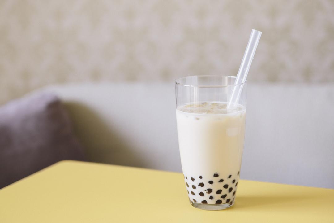 タピオカ練乳黒糖ミルク