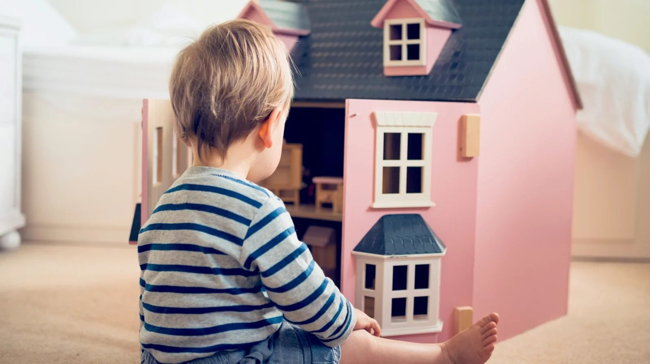 子どもと家のおもちゃ