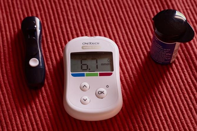 糖尿病をチェックするデバイス