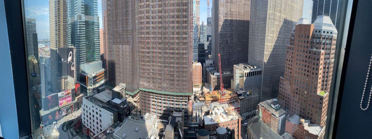 新オフィスからの眺め