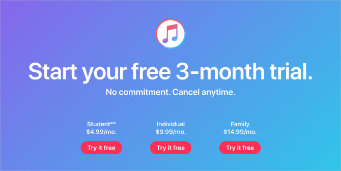 Apple-Music-three-month-trial-and-pricings