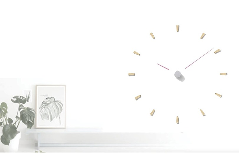 Photo of Simple but playful. How about a wall-mounted laser clock?
