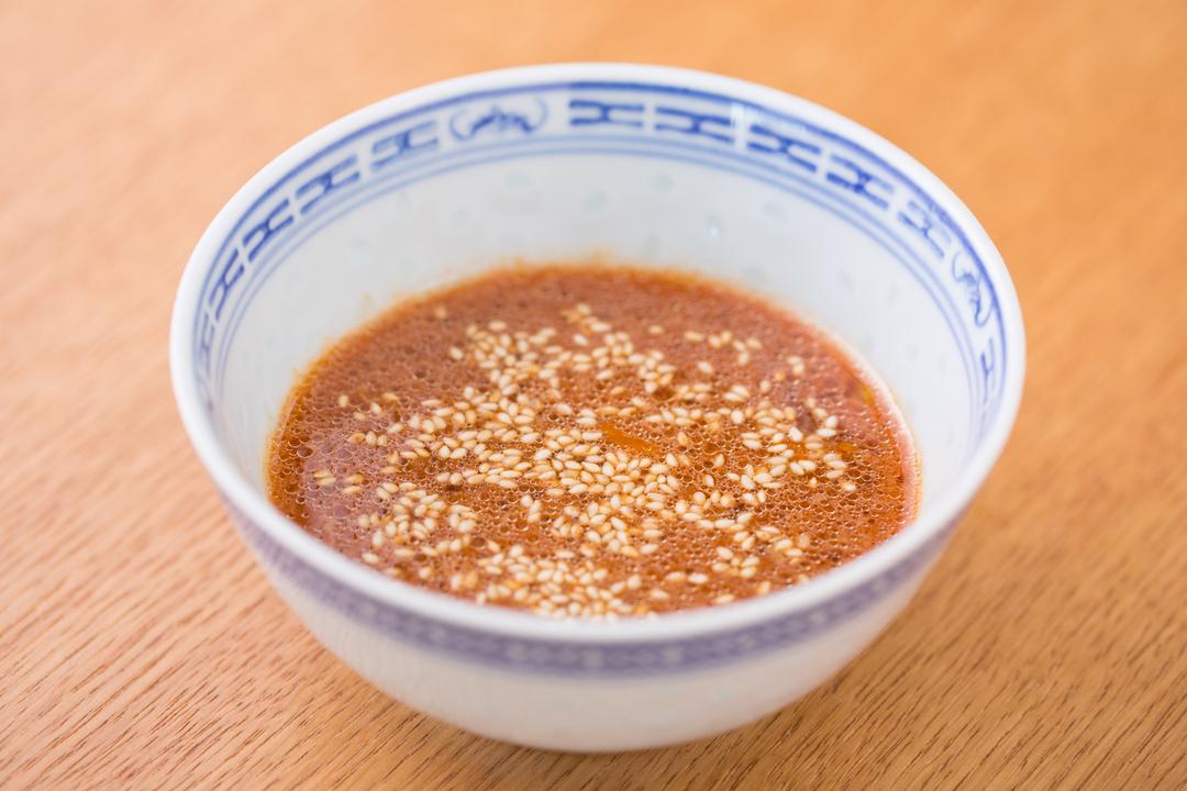 コチュジャン卵ポン酢