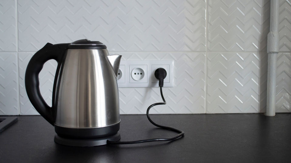 Photo of Various uses of electric kettle for low-temperature cooking and pasta