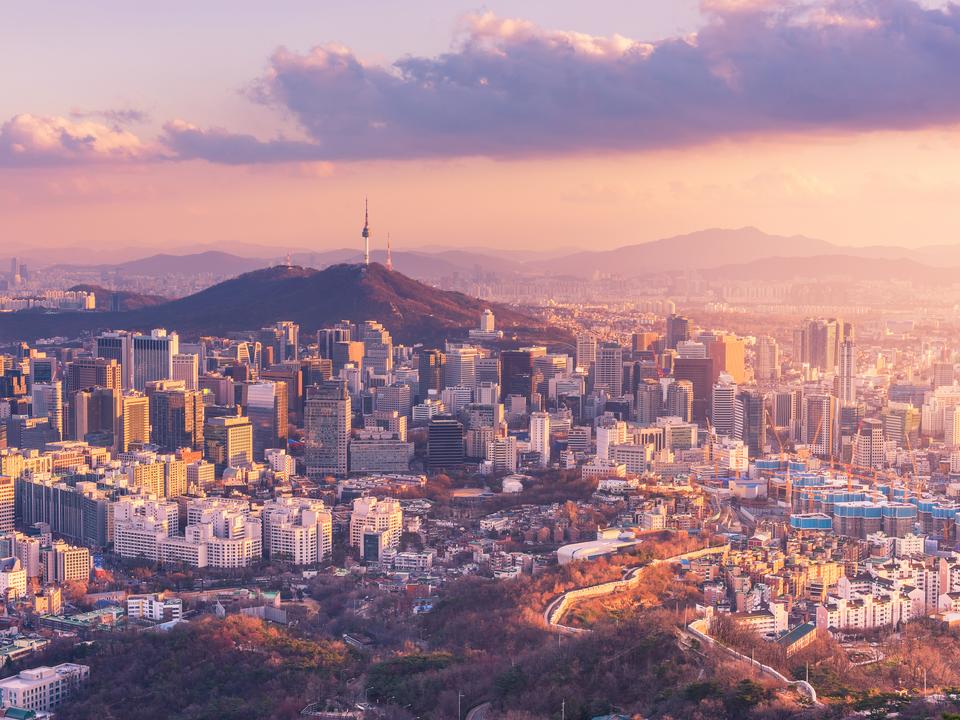 韓国、ソウル。