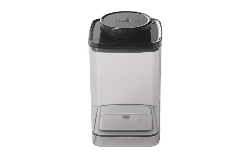 コーヒーや調味料の保存にピッタリ。ダイヤルを回すだけで簡単に真空保存できる容器