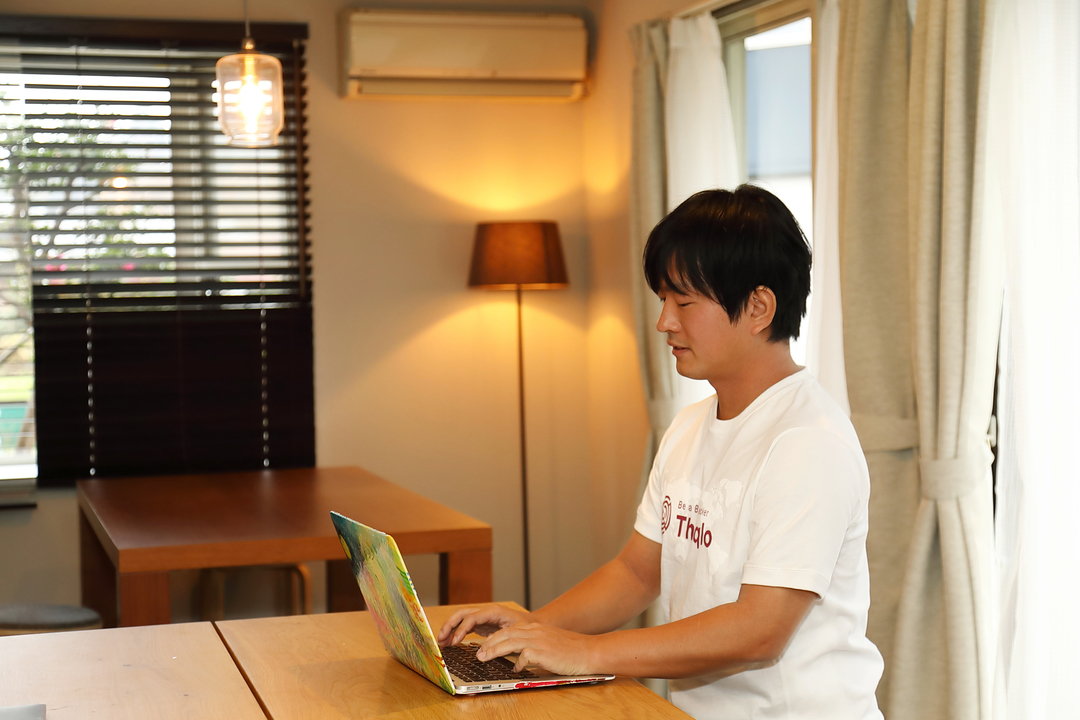 北鎌倉のADDress拠点で働く松谷さん