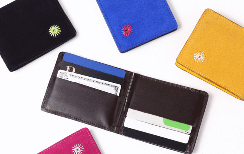 """Photo of Which color would you choose? Colorful real money clip """"CARRAL"""""""