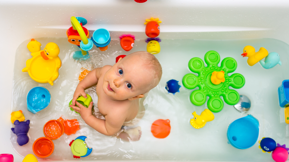 Photo of Win the idea! The best place to put bath toys away