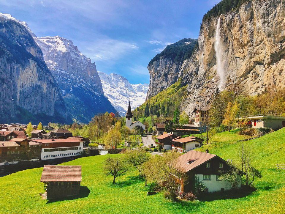 スイスを訪れたときの1枚