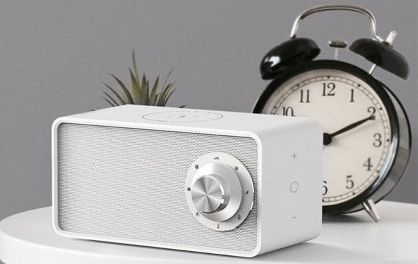 """Photo of Invite sleep with gentle natural sounds. Multifunctional white noise speaker """"Qualitell"""""""
