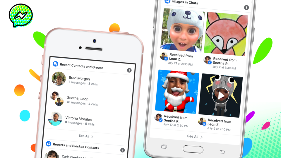 Photo of New features of Facebook's children's app Messenger Kids allow parents to do it